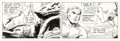 Original Comic Art:Comic Strip Art, Dan Barry and Bob Fujitani Flash Gordon Daily Comic StripOriginal Art dated 2-29-88 (King Features Syndicate, 198...