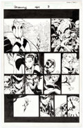 Original Comic Art:Panel Pages, Chris Bachalo and Mark Irwin Uncanny X-Men #464 Story Page 7Original Art (Marvel, 2005)....