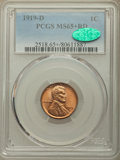 1919-D 1C MS65+ Red PCGS. CAC....(PCGS# 2518)