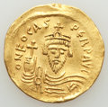 Ancients:Byzantine, Phocas (AD 602-610). AV solidus (22mm, 4.50 gm, 7h). VF, e...