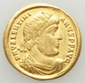 Ancients:Roman Imperial, Ancients: Valentinian I, Western Roman Empire (AD 364-375). AVsolidus (21mm, 4.40 gm, 7h). Fine, scratches, scrape, marks....