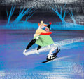 Animation Art:Concept Art, Mary Blair Melody Time Joe and Jenny Concept/Color Key Painting (Walt Disney, 1948)....