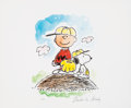 "Animation Art:Poster, Peanuts ""Charlie Brown's All-Stars - Play Ball"" Limited Edition Fine Art Print Printer's Proof (United Feature Syndicate, 1993..."