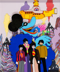 "Animation Art:Limited Edition Cel, ""Beatles 3D"" Yellow Submarine Limited Edition Cel #4/175 (United Artists/King Features/Apple Corp, 1999)...."