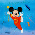 "Animation Art:Limited Edition Cel, ""Leader of the Band"" Mickey Mouse Limited Edition Cel #21/250 (WaltDisney, 2000)...."