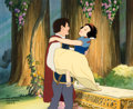 "Animation Art:Presentation Cel, ""Dreams Come True"" Snow White and The Prince Presentation Cel #3/4 (Walt Disney, 2002)...."