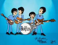"""Saturday Morning Beatles"" Limited Edition Cel #10/225 (Apple Corps Ltd., 2002)"