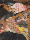 Post-War & Contemporary:Contemporary, Alfred Leslie (b. 1927). The Amarillo, 1956. Mixed mediawith collage on paper. 8 x 6 inches (20.3 x 15.2 cm). Signed, t...