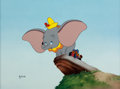 Animation Art:Limited Edition Cel, Dumbo Limited Edition Cel #8/275 (Walt Disney, 1991)....
