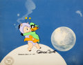 Animation Art:Production Cel, Duck Dodgers and the Return of the 24½th Century Daffy Duckand Porky Pig Production Cel (Warner Brothers, 1980)....