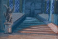 Animation Art:Concept Art, Beauty and the Beast Background Color Key/Concept Art (Walt Disney, 1991). ...