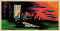 Animation Art:Concept Art, Mary Blair Cinderella Dream Sequence Color Key/ConceptPainting (Walt Disney, 1950)....
