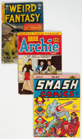 Golden Age (1938-1955):Miscellaneous, Golden Age Miscellaneous Comics Group of 6 (Various Publishers, 1941-53).... (Total: 6 )