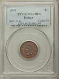 Indian Cents, 1909 1C MS65 Brown PCGS. PCGS Population: (38/1). NGC Census: (64/4). CDN: $80 Whsle. Bid for problem-free NGC/PCGS MS65. M...