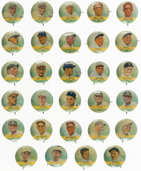 1932 Tattoo Orbit Numbered Pins Collection (29)
