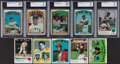 Baseball Cards:Lots, 1972 to 1973 Topps Baseball Collection (460) With Stars. ...