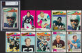 Football Cards:Lots, 1969-77 Topps Football Collection (970+)....
