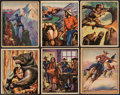 "Non-Sport Cards:Sets, 1949 Bowman ""Wild West"" Near Set (153/180). ..."