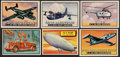 """Non-Sport Cards:Lots, 1952 Topps """"Wings"""" Trading Card Collection (44) Plus Extras (12). ..."""