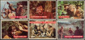Non-Sport Cards:Sets, 1956 Topps Davy Crockett Complete Green Set (80). ...