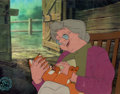Animation Art:Production Cel, The Fox and the Hound Widow Tweed and Tod Production cel(Walt Disney, 1981). ...