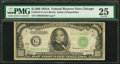 B Fr. 2212-G $1000 1934A Federal Reserve Note PMG Very Fine 25. /B /I BR Ink Lightened