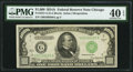 Small Size:Federal Reserve Notes, Fr. 2212-G $1000 1934A Federal Reserve Note PMG Extremely Fine 40EPQ....