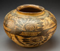 American Indian Art:Pottery, A Mexican Brown-On-Cream Jar...