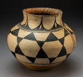 American Indian Art:Pottery, A Santo Domingo Polychrome Jar. c. 1910. ...