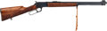 Long Guns:Lever Action, Carved Marlin Model Golden 39A Mountie Lever Action Rifle.. ...