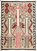 American Indian Art:Weavings, A Navajo Pictorial Rug. c. 1925...