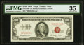 Small Size:Legal Tender Notes, Fr. 1550* $100 1966 Legal Tender Star Note. PMG Choice Very Fine 35.. ...
