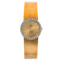 Estate Jewelry:Watches, Concord Lady's Diamond, Gold Watch. ...