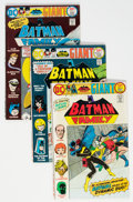 Bronze Age (1970-1979):Superhero, Batman Family Group of 13 (DC, 1975-78) Condition: Average FN....(Total: 13 Comic Books)