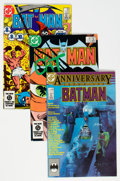 Modern Age (1980-Present):Superhero, Batman Group of 19 (DC, 1984-94) Condition: Average NM-.... (Total:19 Comic Books)