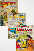 Silver Age (1956-1969):Superhero, Superman's Girlfriend Lois Lane Group of 22 (DC, 1954-64)Condition: Average FR/GD.... (Total: 22 Comic Books)