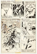 Original Comic Art:Panel Pages, Wally Wood and A. L. Sirois All-Star Comics #64 Page 24 Original Art (DC, 1977)....