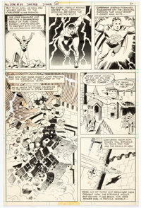 Wally Wood and A. L. Sirois All-Star Comics #64 Page 24 Original Art (DC, 1977)