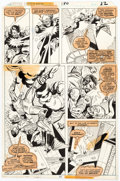 Original Comic Art:Panel Pages, Ross Andru and Mike Esposito Amazing Spider-Man #180 Story Page 13 Original Art (Marvel, 1978)....