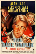 """Movie Posters:Film Noir, The Blue Dahlia (Paramount, 1946). Very Fine on Linen. One Sheet (27"""" X 41"""").. ..."""