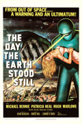 "Movie Posters:Science Fiction, The Day the Earth Stood Still (20th Century Fox, 1951). Fine+ onLinen. One Sheet (27"" X 41"").. ..."