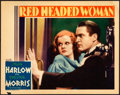 Movie Posters:Comedy, Red Headed Woman (MGM, 1932). Fine/Very Fine. Lobb...