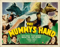 "Movie Posters:Horror, The Mummy's Hand (Universal, 1940). Fine/Very Fine. Title Lobby Card (11"" X 14"").. ..."