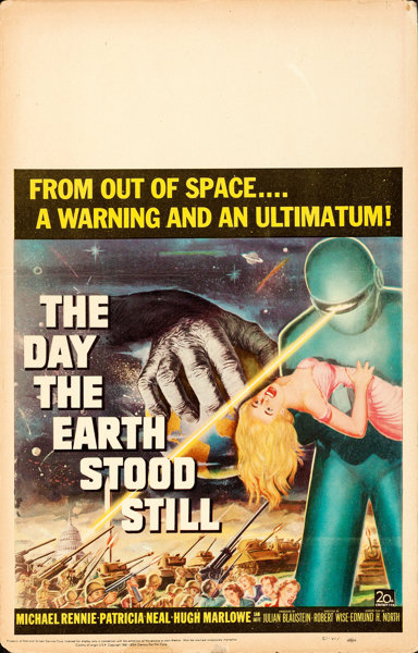 Still Pictures Are All Very Fine And >> The Day The Earth Stood Still 20th Century Fox 1951 Folded