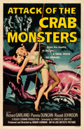 Movie Posters:Science Fiction, Attack of the Crab Monsters (Allied Artists, 1957). Very F...