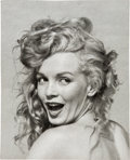 Movie/TV Memorabilia:Photos, Marilyn Monroe Black and White Photo By Andre de Dienes.. ...