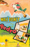 Animation Art:Poster, Pedro Theatrical Poster (Walt Disney, 1955)....