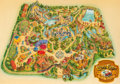 "Animation Art:Concept Art, ""Calaveras County"" Theme Park Overview Art by Wes Cook (Landmark Entertainment, 1991)...."