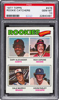 Baseball Cards:Singles (1970-Now), 1977 Topps Dale Murphy - Rookie Catchers #476 PSA Gem Mint 10. ...