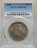 Franklin Half Dollars, 1948 50C MS66 Full Bell Lines PCGS. PCGS Population: (522/17). NGC Census: (139/7). CDN: $200 Whsle. Bid for problem-free N...